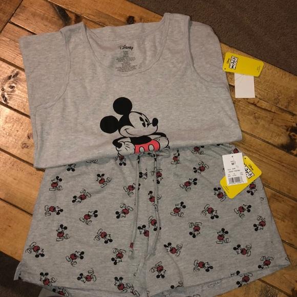 Disney Winnie the Pooh Pyjama Crop Top Sizes 2XS-XL
